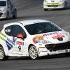 Royo en la ultima carrera de la Peugeot 207 THP