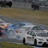 golpe circuito WTCC BMW