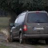 Pruebas VW Caddy barro