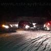 prueba de iluminacion comparativa en nieve