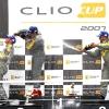 Renault Clio Circuitos 2007 podium