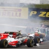 Heidfeld y di Resta F1 GP Alemania 2011