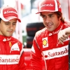 Felipe Massa y Fernando Alonso F1 Italia 2011