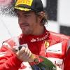 Podium Fernando Alonso F1 Valencia 2011