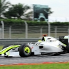 Jenson Button con el Brawn en MALASIA