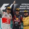 Podium F1 Malasia 2011