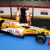 Presentación del equipo Renault de F1