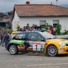 Chus Puras Rallye Aviles con el Renault Clio