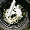 Daelim S3 125 FI rueda delantera