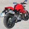 Ducati Monster 696 trescuartos trasero