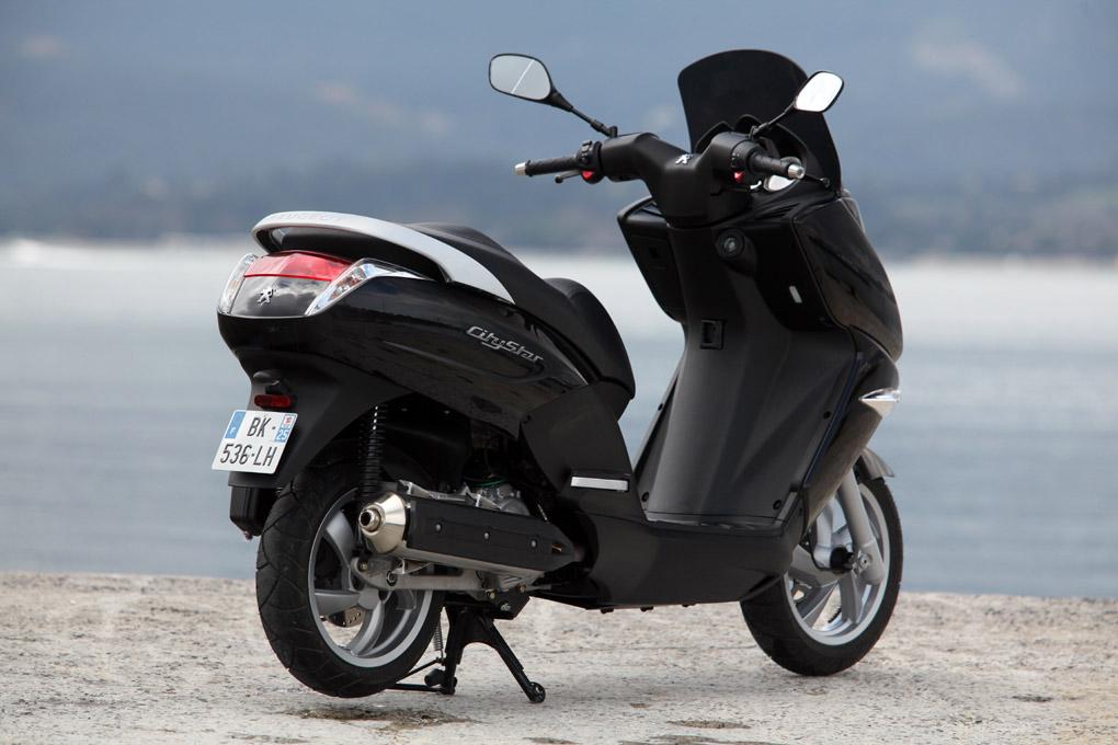 nuevos scooter peugeot citystar 125 y 200 auto sprint. Black Bedroom Furniture Sets. Home Design Ideas