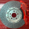 Ferrari disco de carbon-ceramico