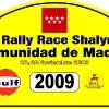 Placa 2009 Rallye Shalymar