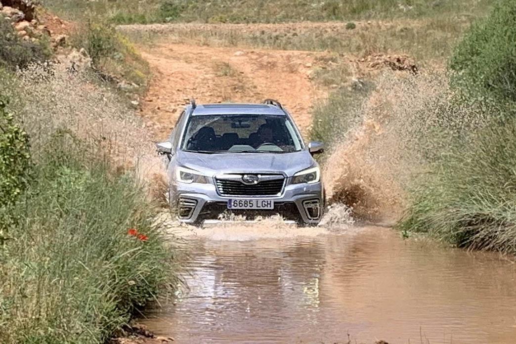 Prueba del Subaru Forester híbrido de 5ª generación.