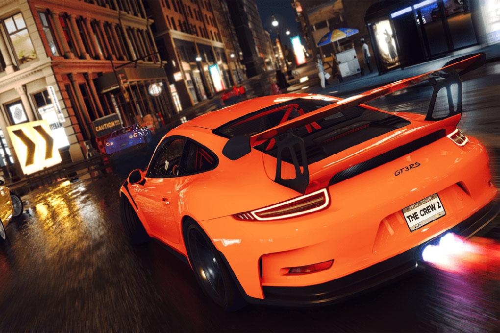 Imagen de uno de los juegos de carreras de PlayStation
