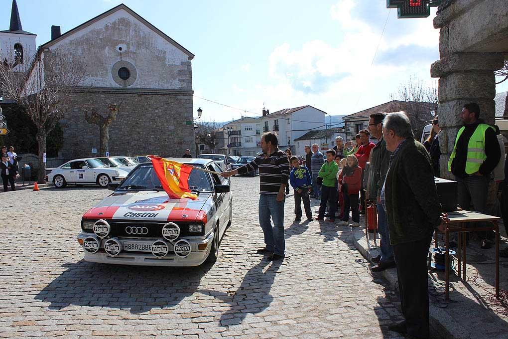 salida Rallye Peguerinos