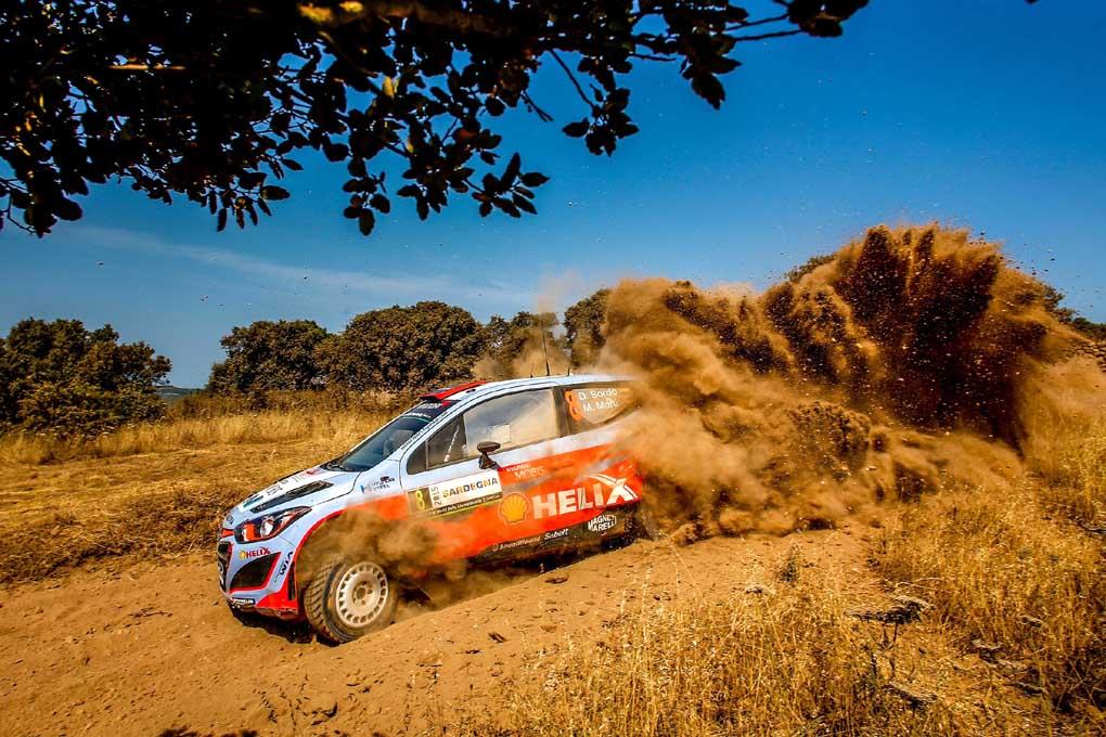 Rallye de Italia, Dani Sordo con el Hyundai
