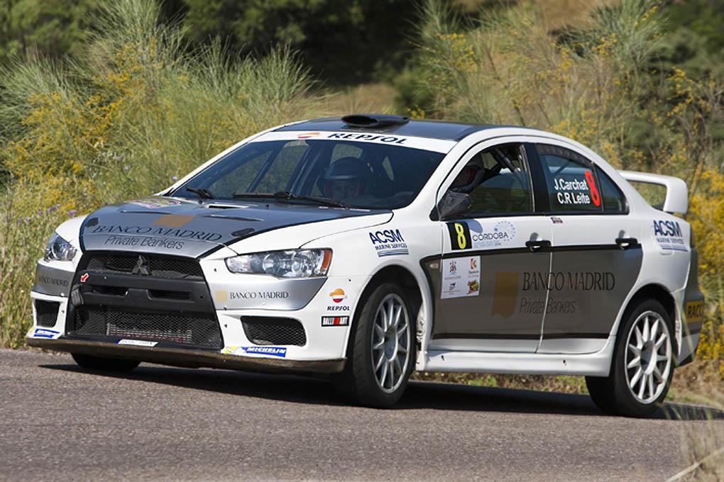 Joan Carchat y Claudi Riveiro Rallye Sierra Morena