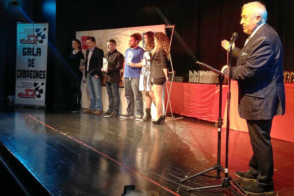 Entrega de premios 2014 Campeonatos madrileños