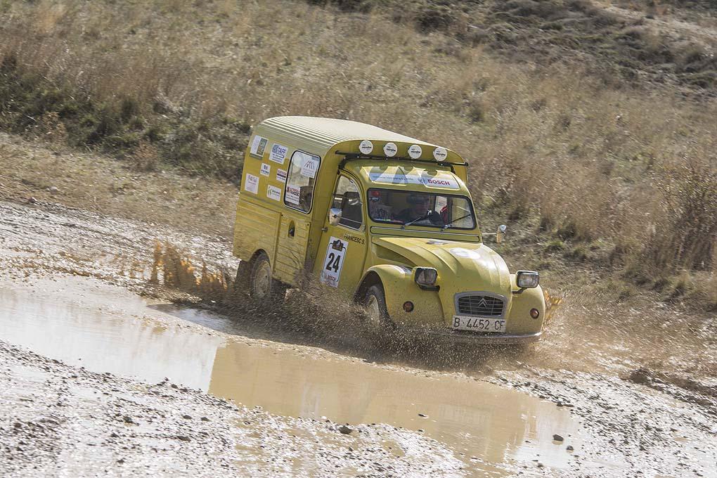 Spain Classic Raid 2CV