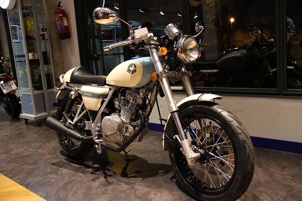 Moto Mash en la presentación de Madrid