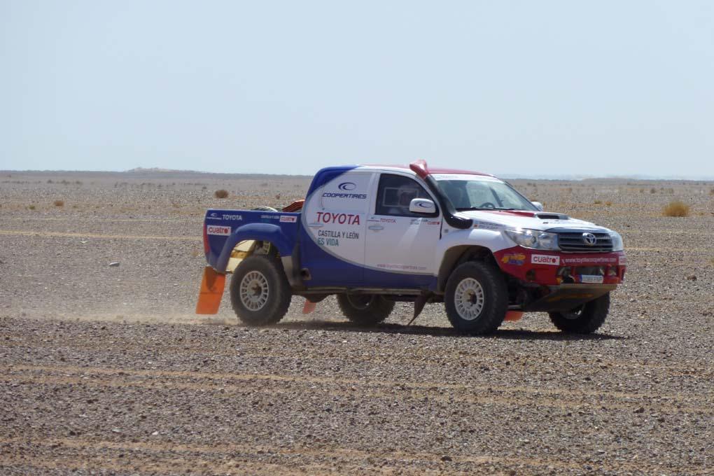 Toyota Hilux Dakar 2011