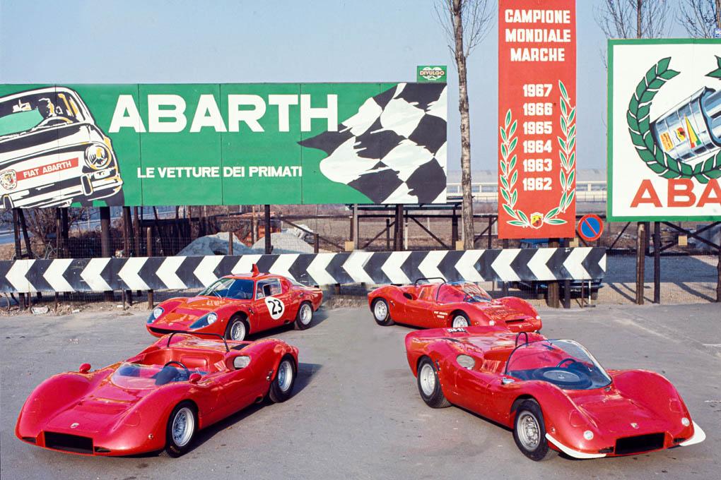 Abarth campeona mundial marcas