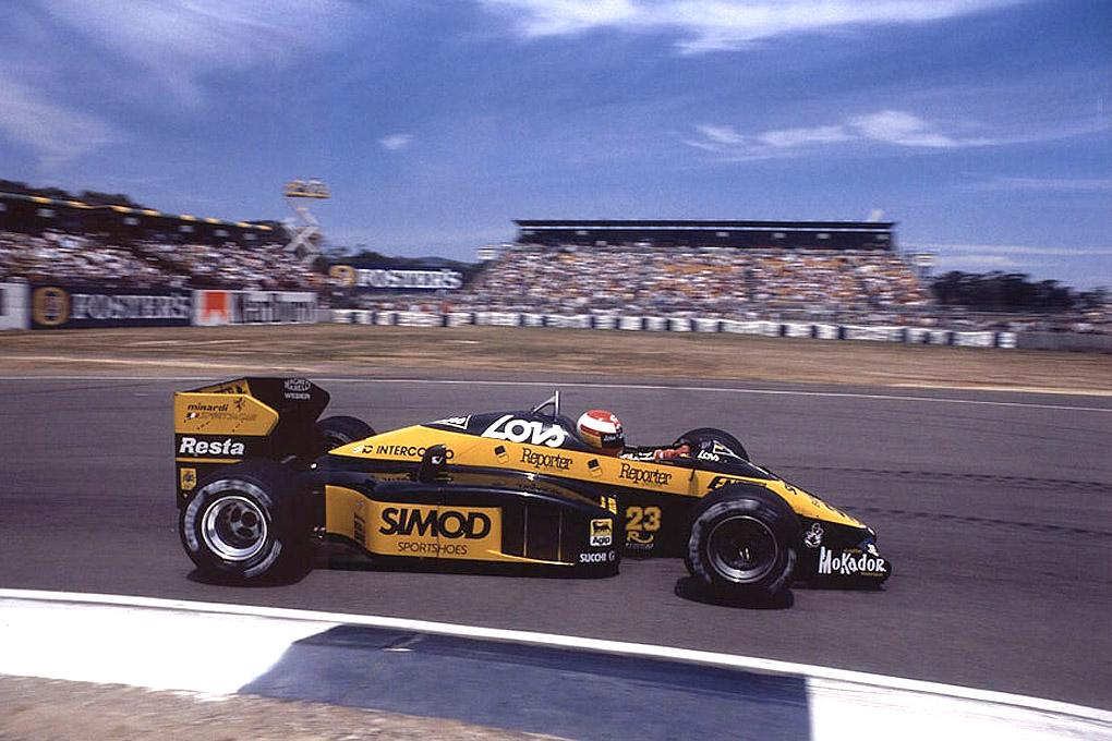Adrian Campos en el Formula 1