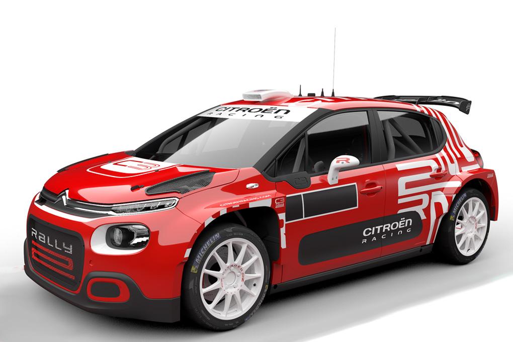Citroën C3 Rally2 para el 2021