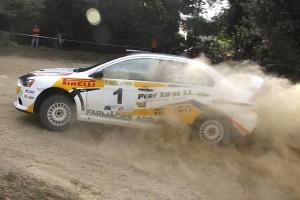 Climent Domingo y Joan Venceslao Rallye La Terrisa 2013