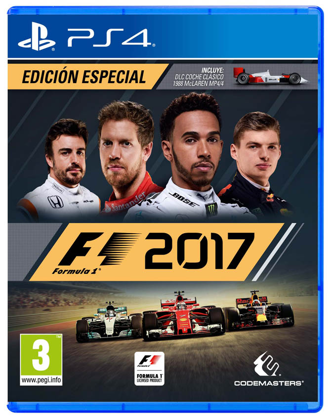 Caratula del juego F1 2017