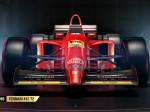 Ferrari de 1995 en el juego F1 2017
