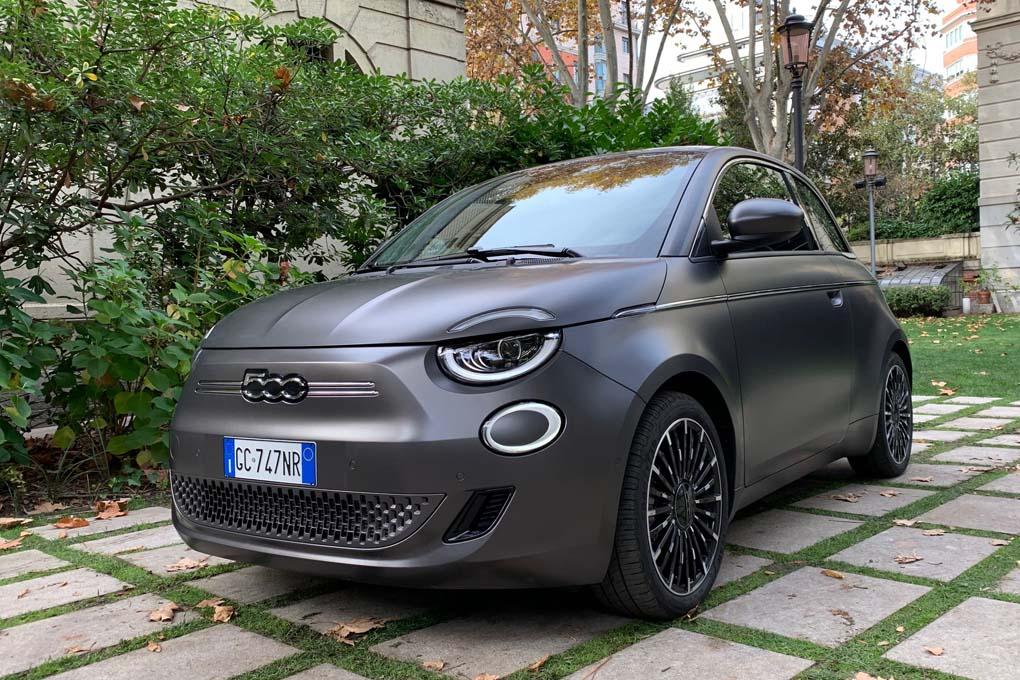 Presentación del Fiat 500 eléctrico
