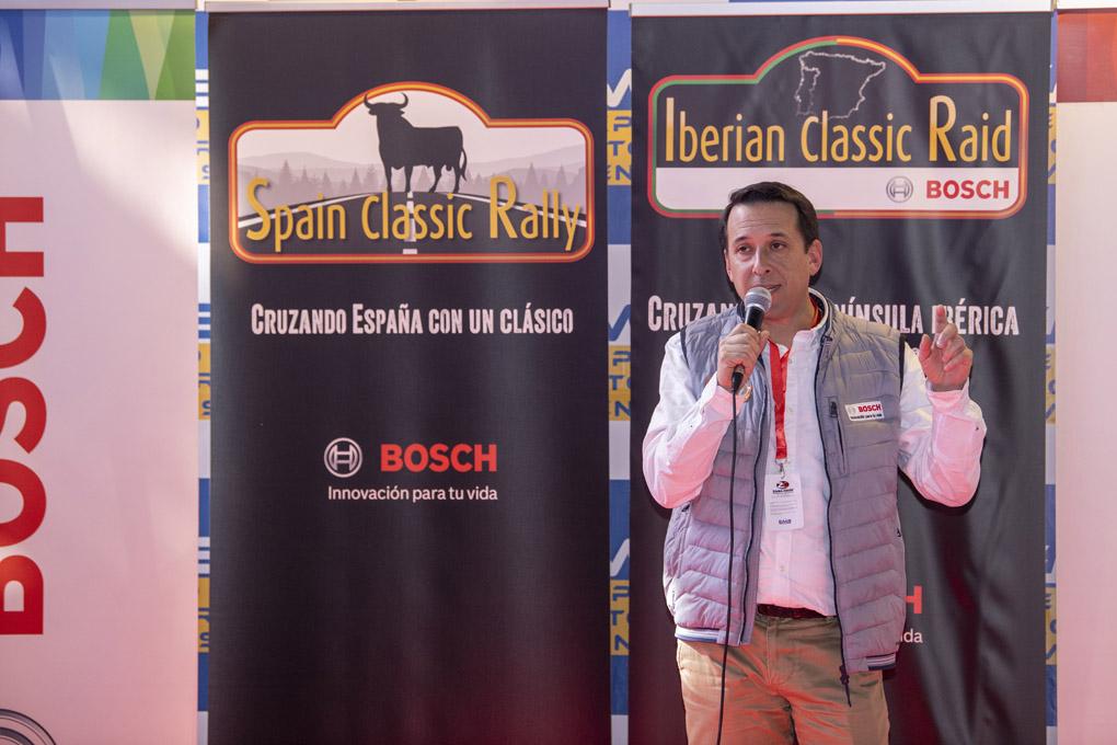 Presentacion Spain Classic Rally e Iberian Classic Raid