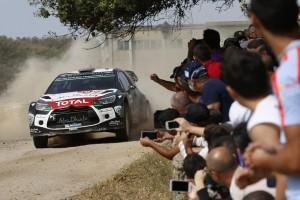 Rallye de Italia, Ostberg con el DS 3 WRC