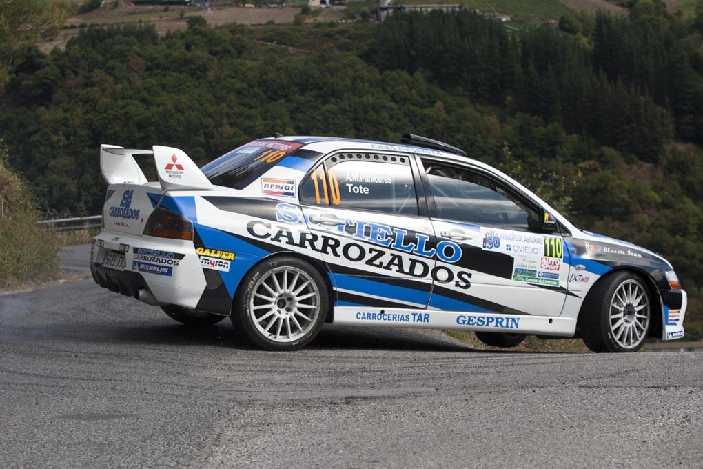 Paniceres, Rallye Ppe. Asturias 2013