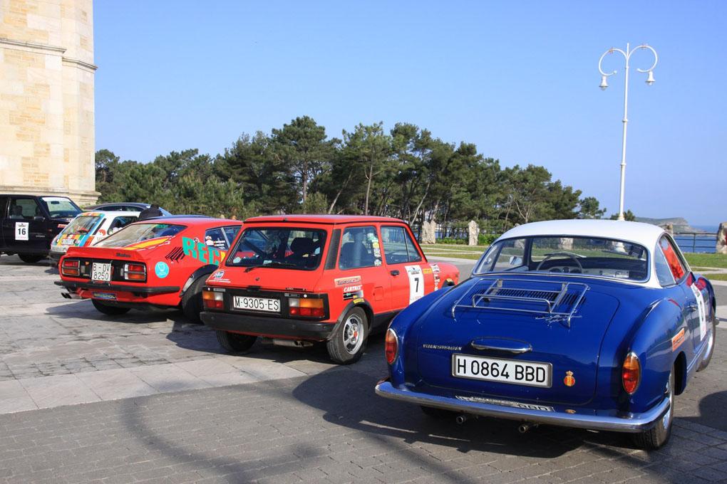 Salida del Spain Classic Rally en Santander