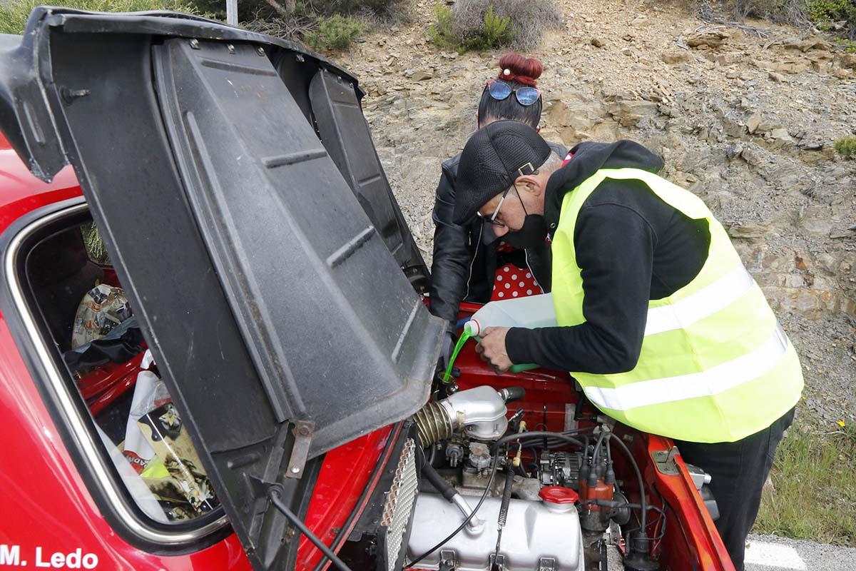 Simca 1000 Rallye en Spain Classic Rally