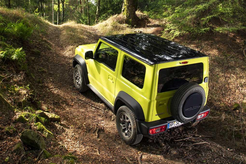 El nuevo 4x4 de Suzuki