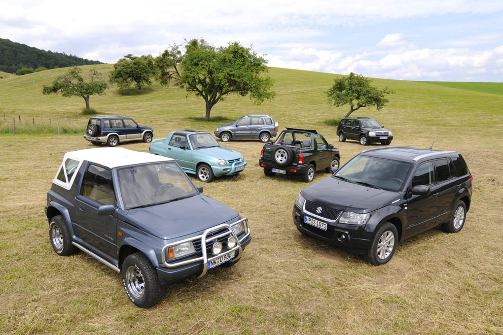 generaciones del Suzuki Vitara