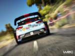 Escena del Hyundai i20 en el juego WRC 7