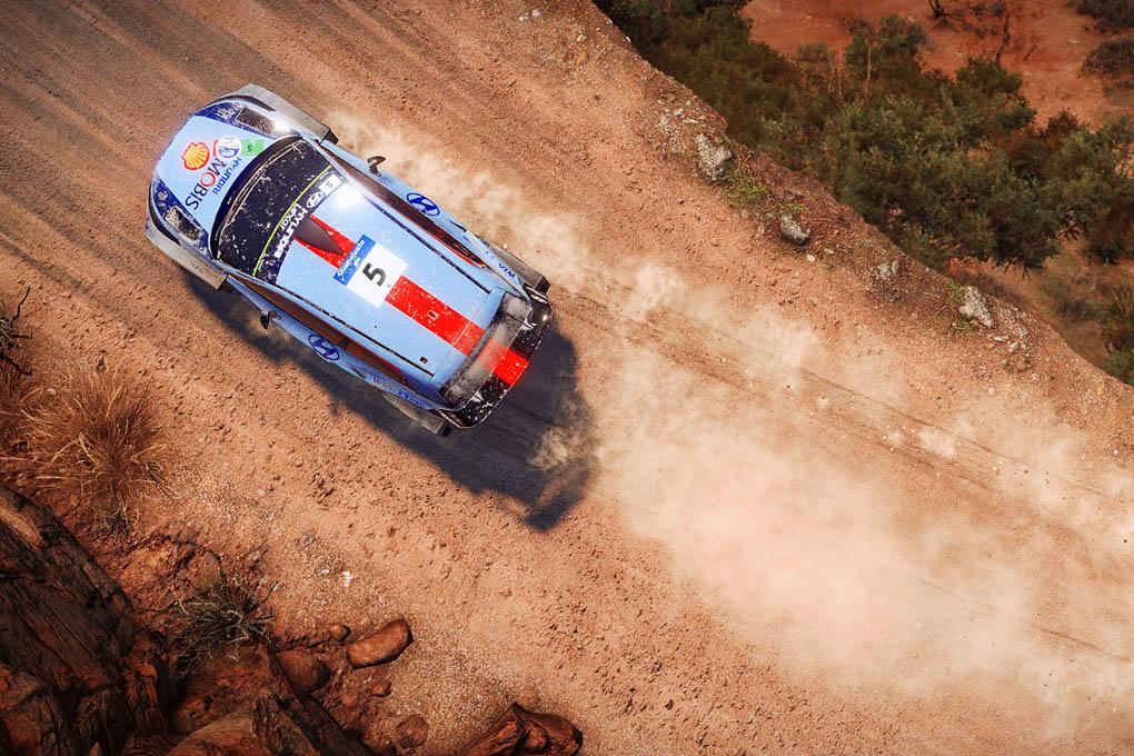 El Hyundai i20 en el juego WRC 7
