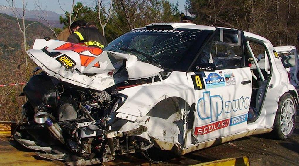 Robert Kubica Skoda Fabia S2000