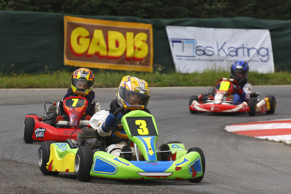 Karting alevin Benito Puceiro