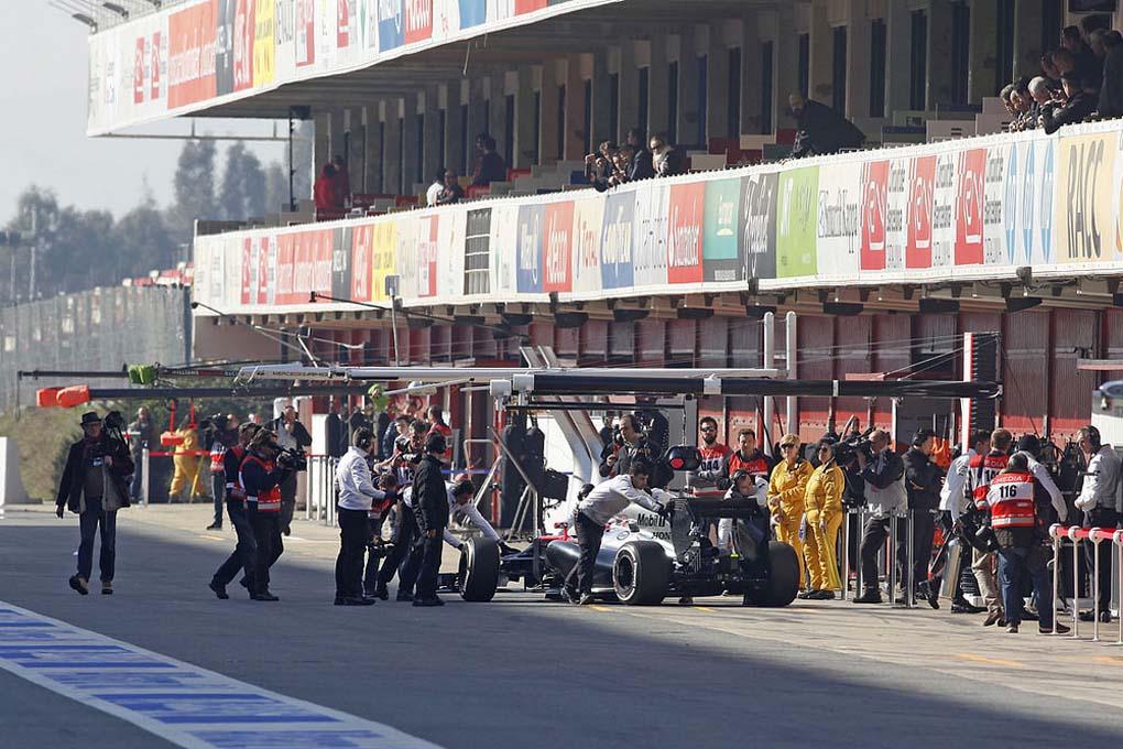 Test F1 2015 en el Circuito de Montmeló