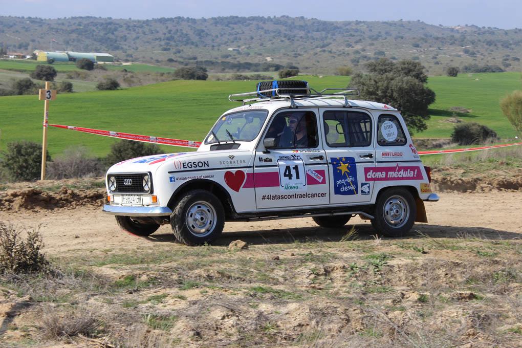 El Renault 4 vencedor de la Regularidad