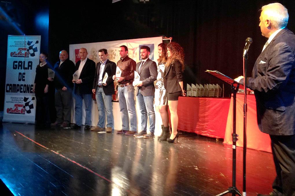 Entrega de premios 2014 Campeonato madrileño Asfalto