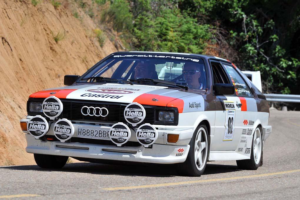 Audi Coupe GT 5 de Jaime Queralt-Lortzing y Manuel Gonzalez