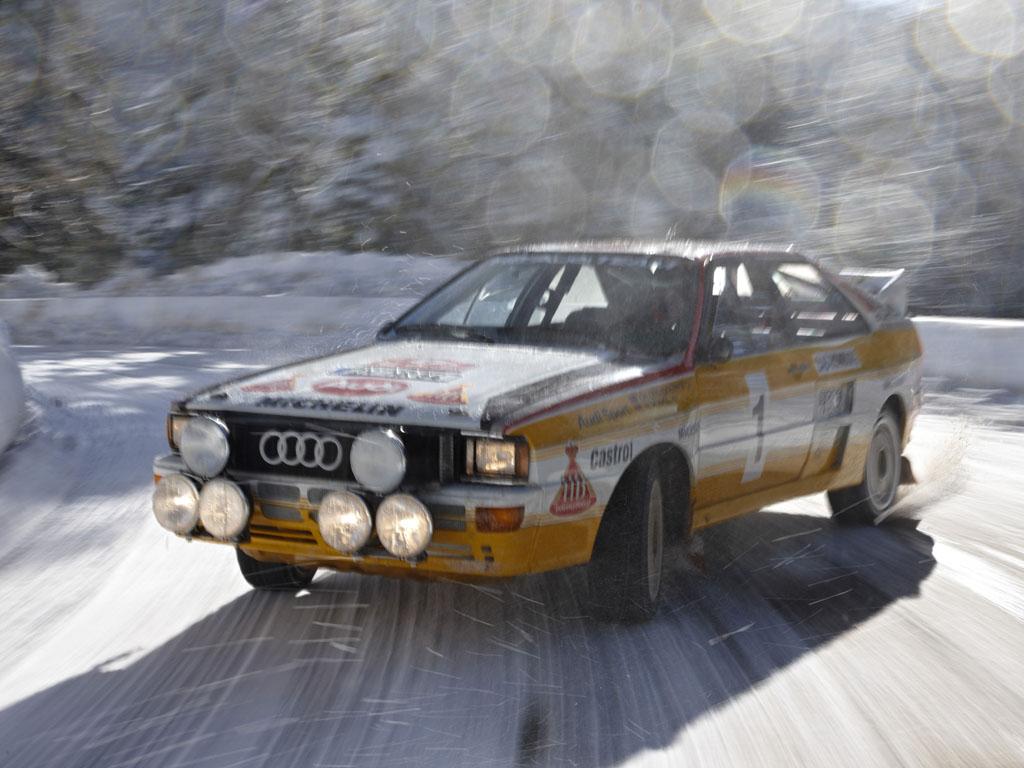Audi quattro en el Col de Turini