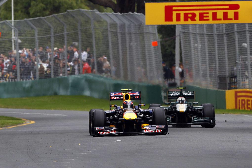 F1 Australia 2011: Sebastian Vettel